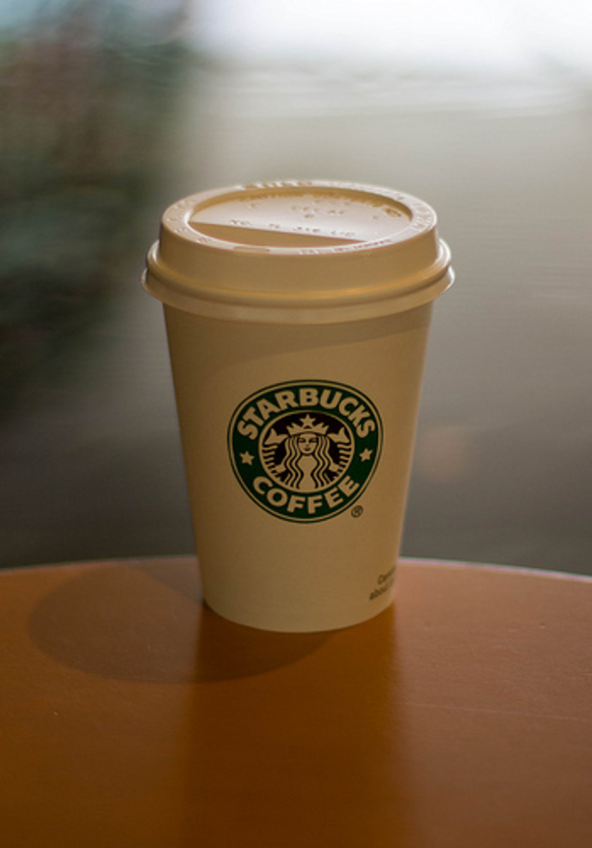 Starbucks coffee for improved endurance performance. Choose your coffee house.