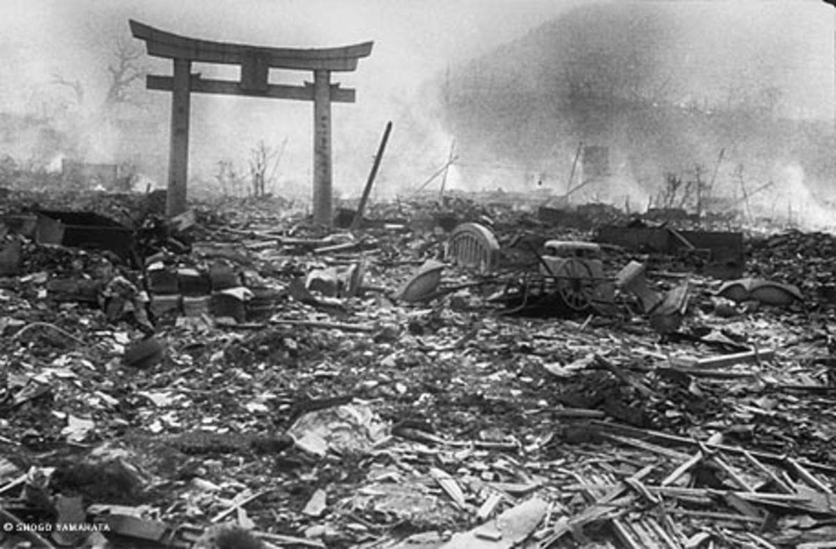 The ruins of Nagasaki.