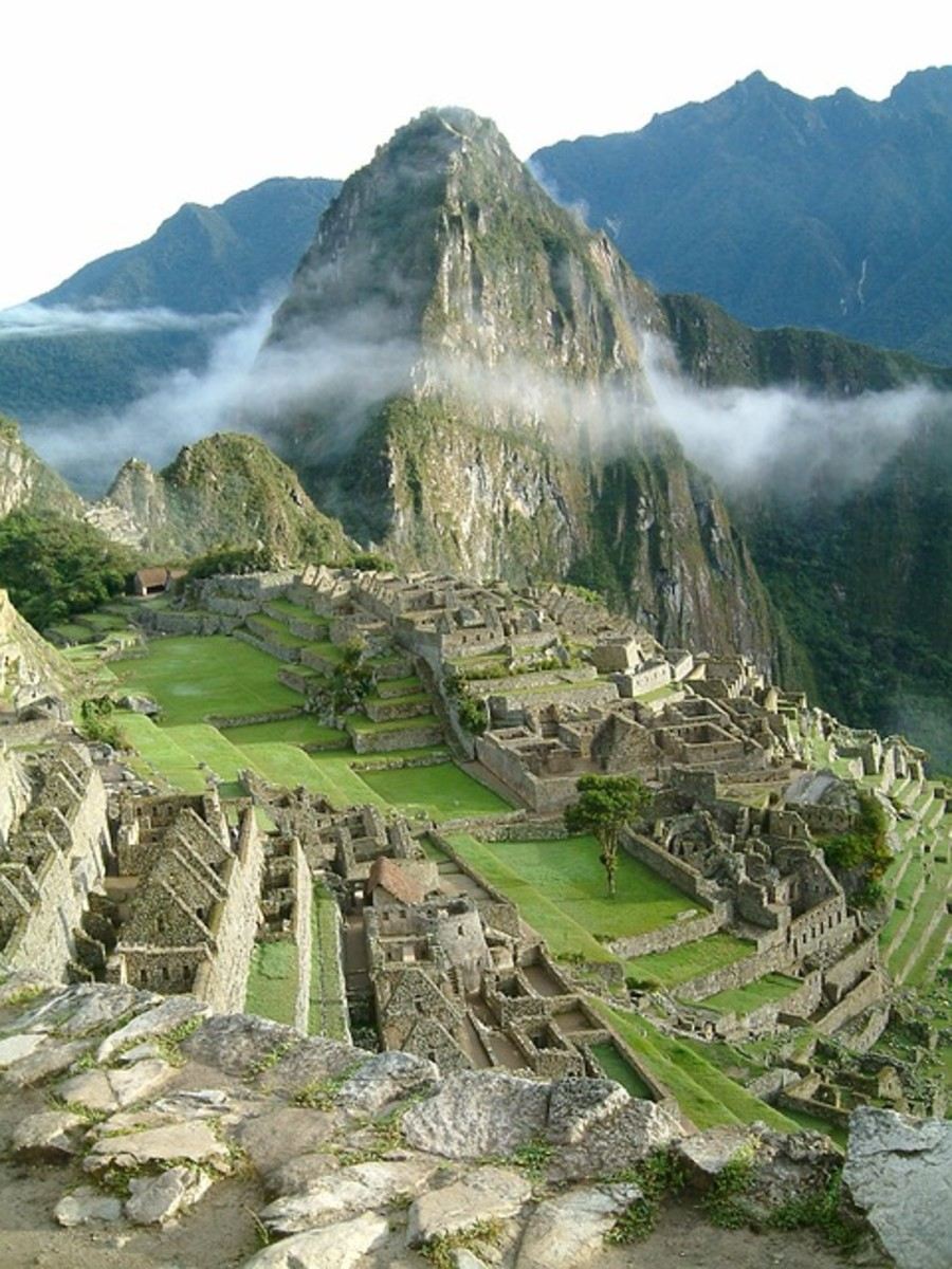 Machu Picchu Incas Peru Temple