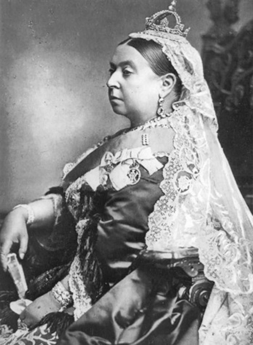 Victoria in 1887