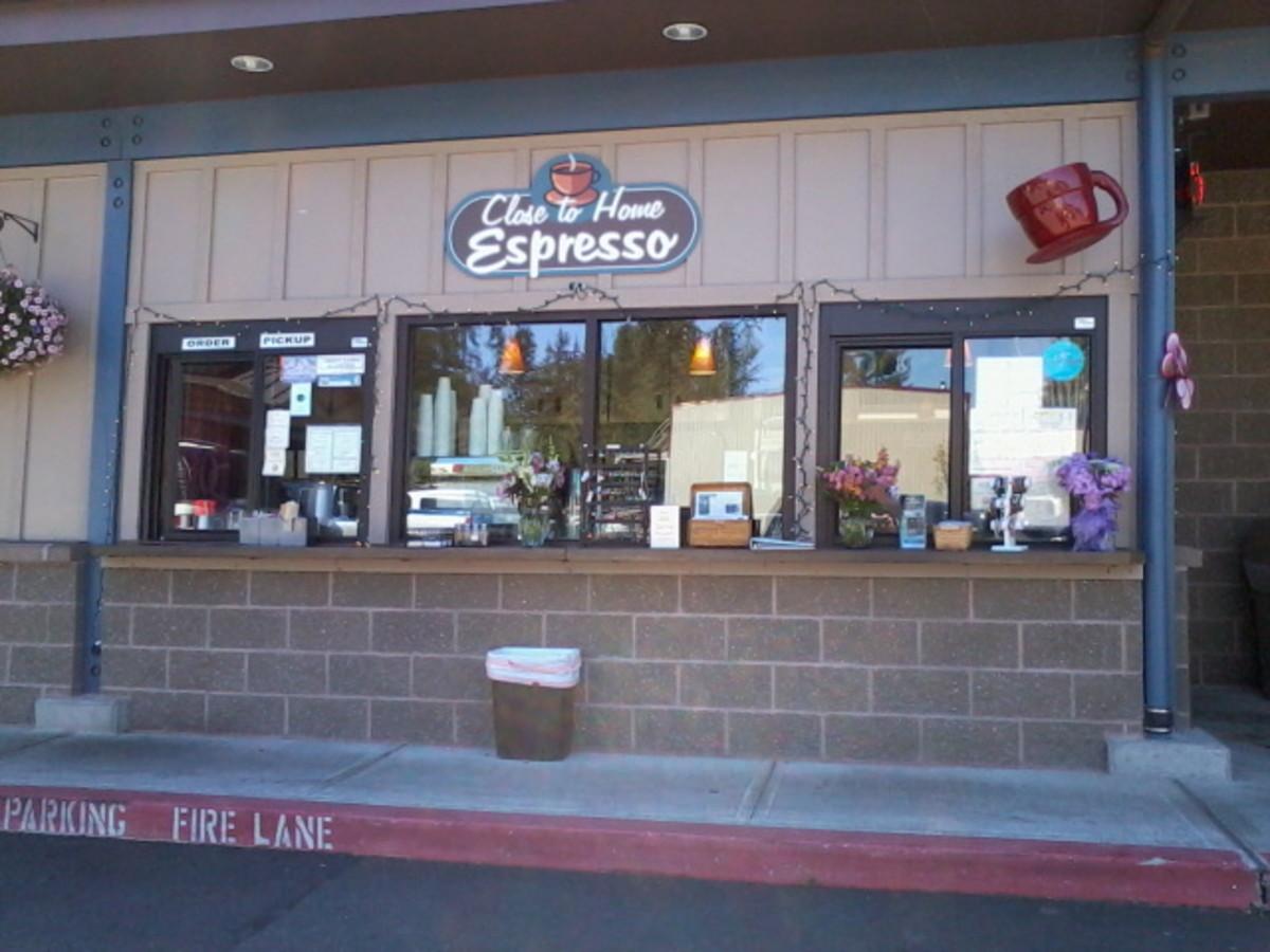 Close to Home Espresso in Key Center, WA