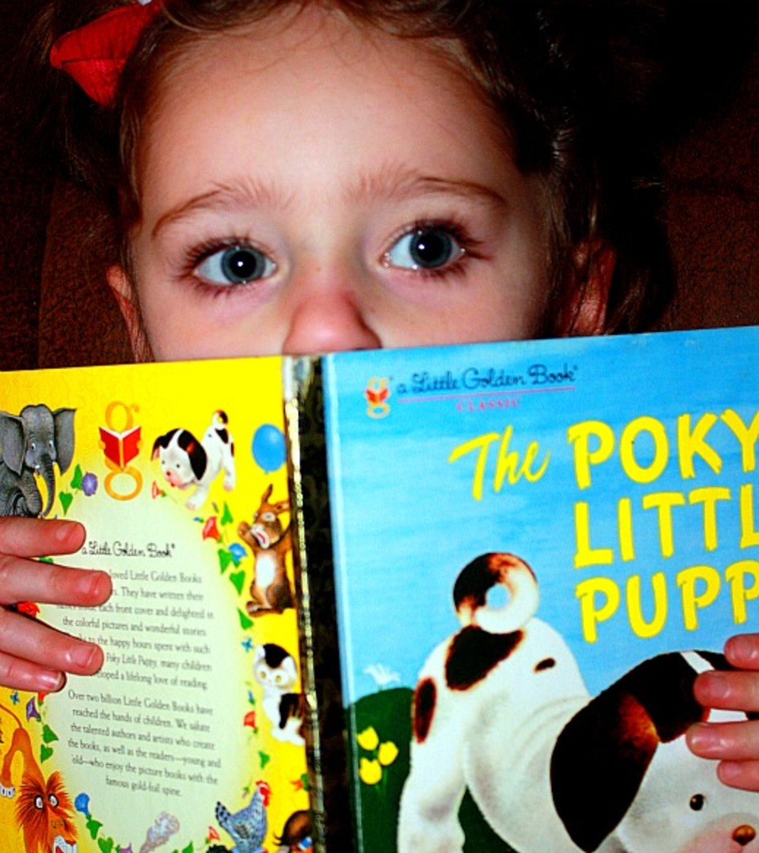 """The Poky Little Puppy"" What lessons does this book teach your children?"