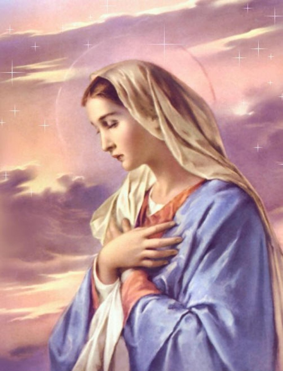 Lovely Lady Dressed in Blue: A Prayer, A Poem