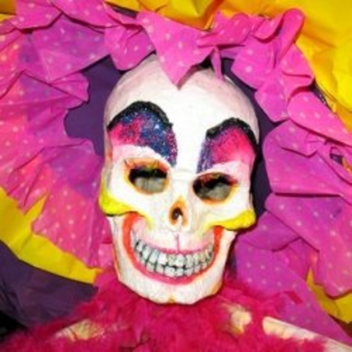Make a Day of the Dead Mask for Dia de los Muertos