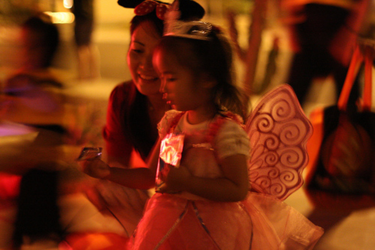 An Adorable and Age Appropriate Fairy Halloween Costume