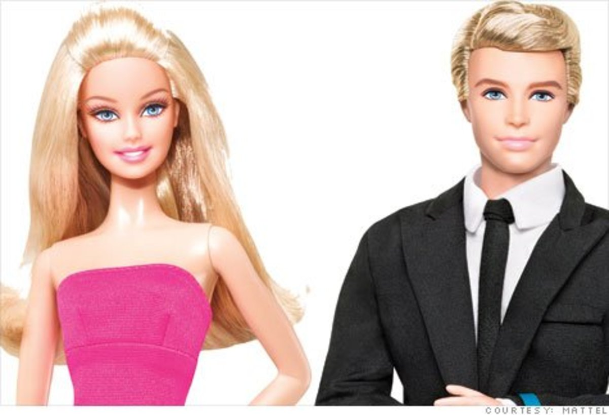 Barbie and Ken in 2011