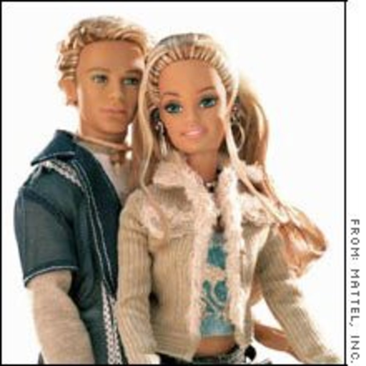 Barbie and Blaine in 2004