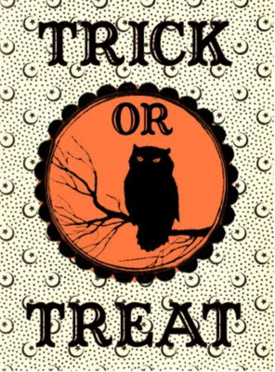 Halloween Treat Bag Labels