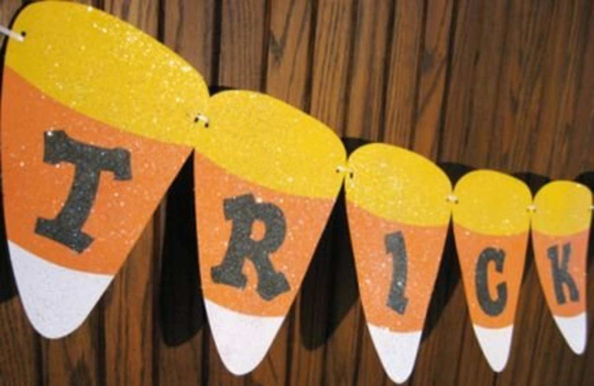 free printable candy corn garland