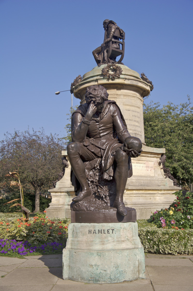 How many plays did Shakespeare write? Probably 40. Hamlet is one of his most famous.