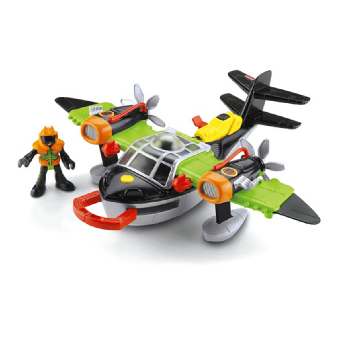 Fisher Price Imaginext Sky Racers Airplane Toy Review