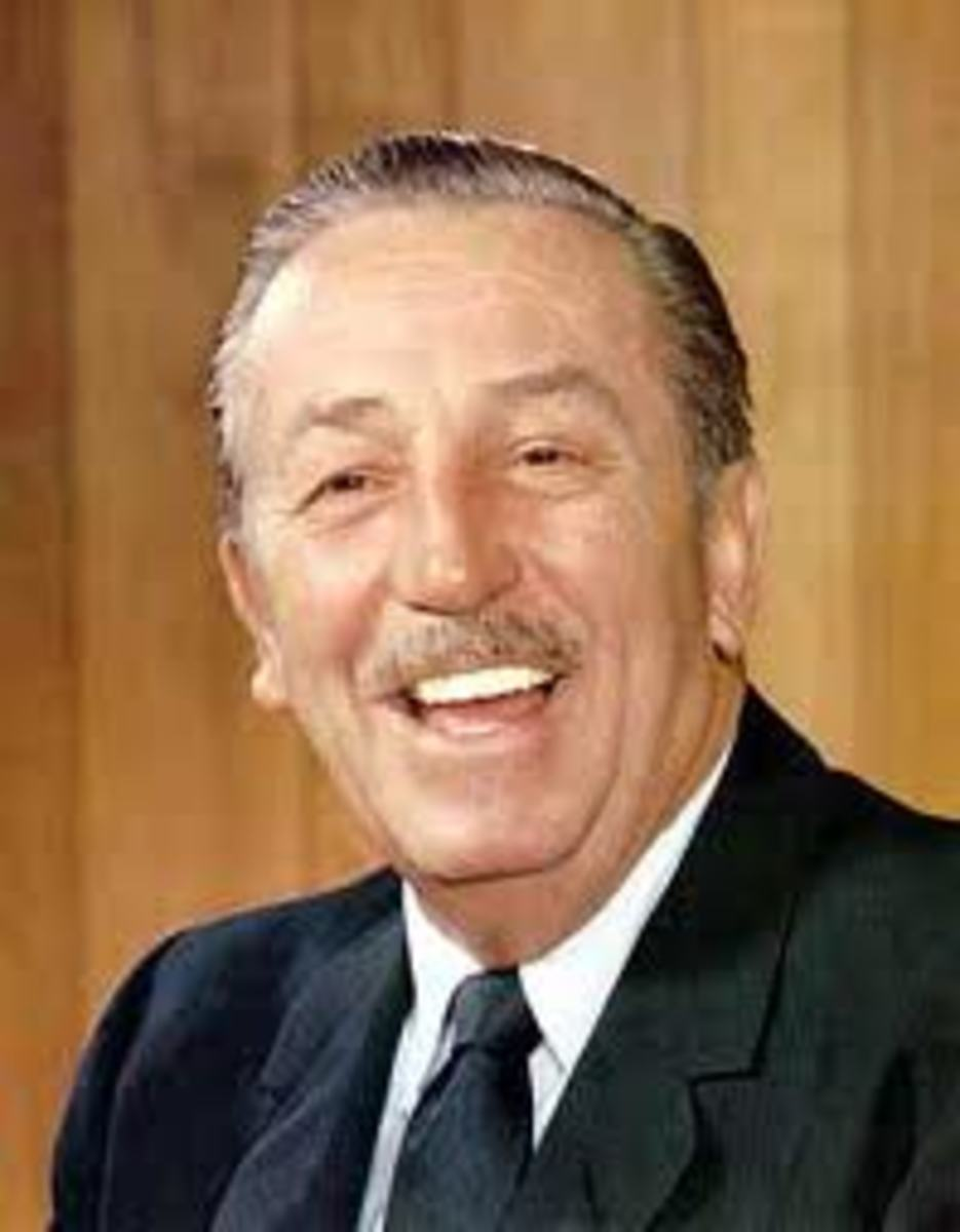 Walter Elias Disney 1901 - 1966