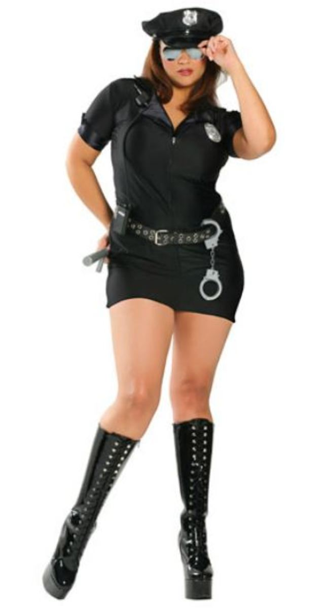 Penal Code Penny Plus Size Costume