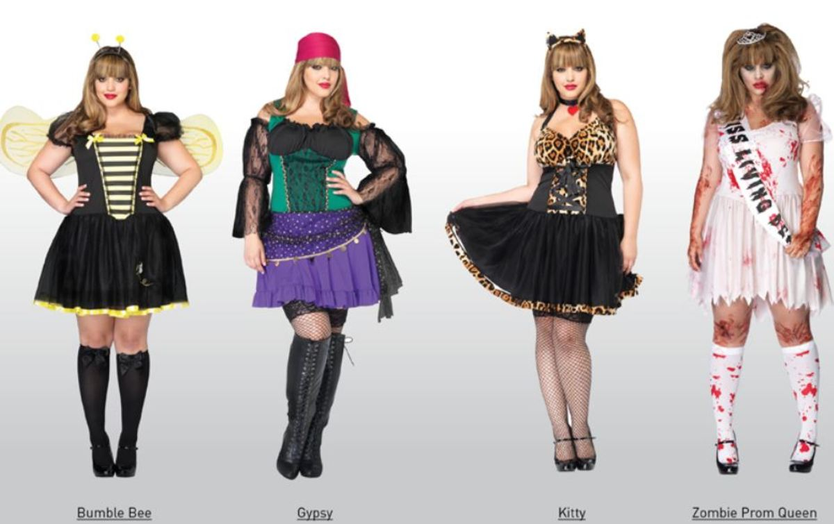 Sexy Plus size Halloween Costumes