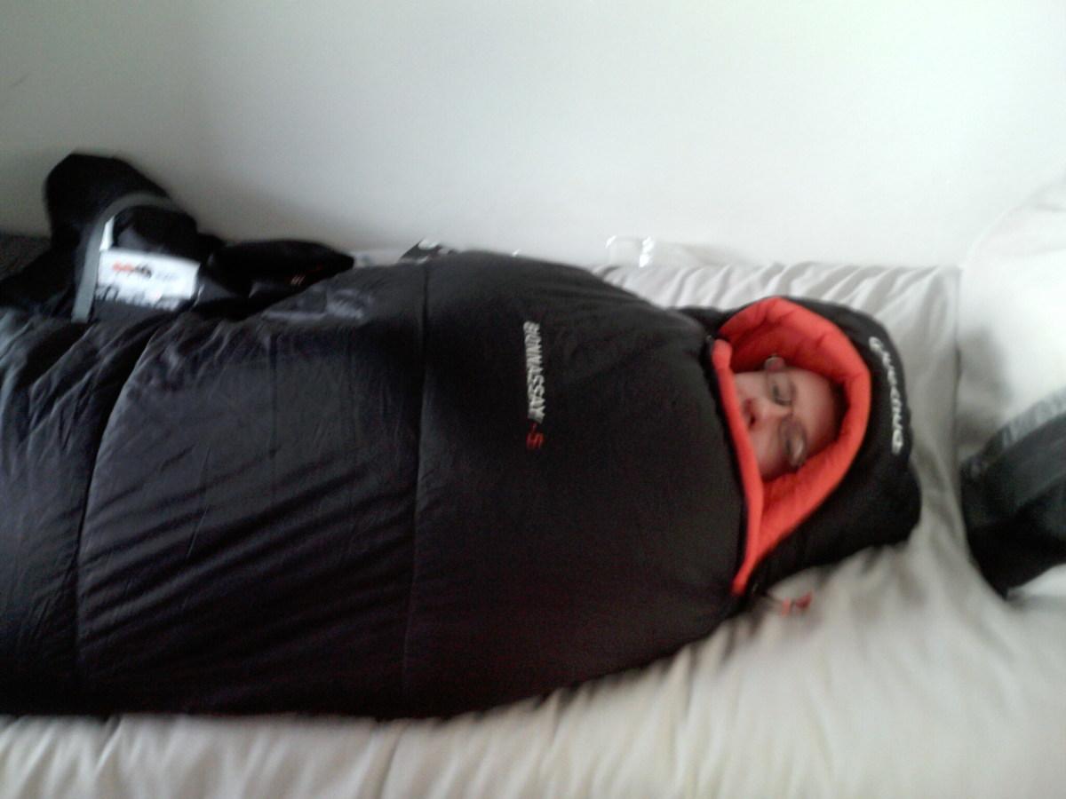 Quechua Bionnassay -5 Mummy Four Season Sleeping Bag Review. (sub 0 degrees)