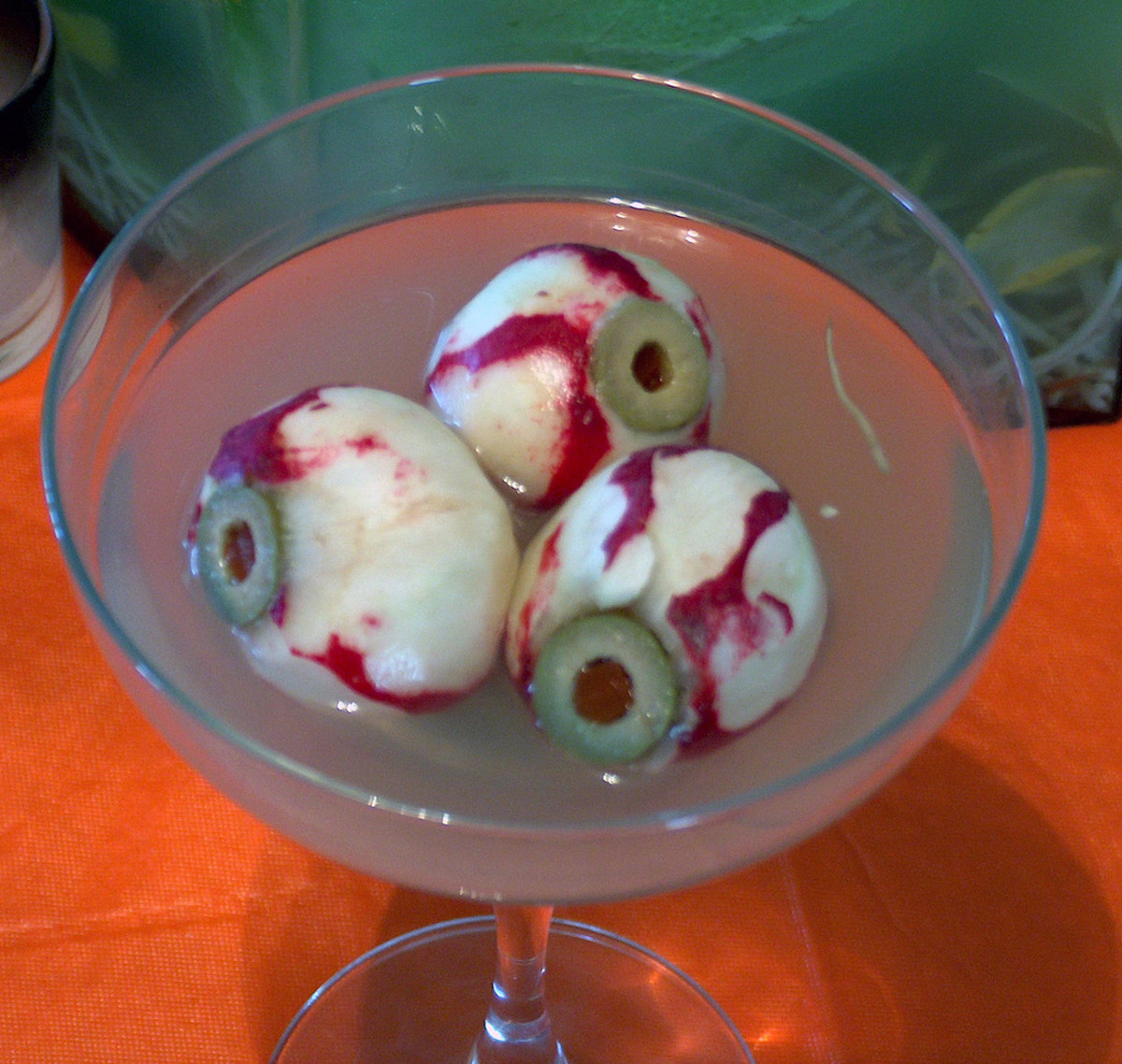 Would you like eyeballs in that martini?