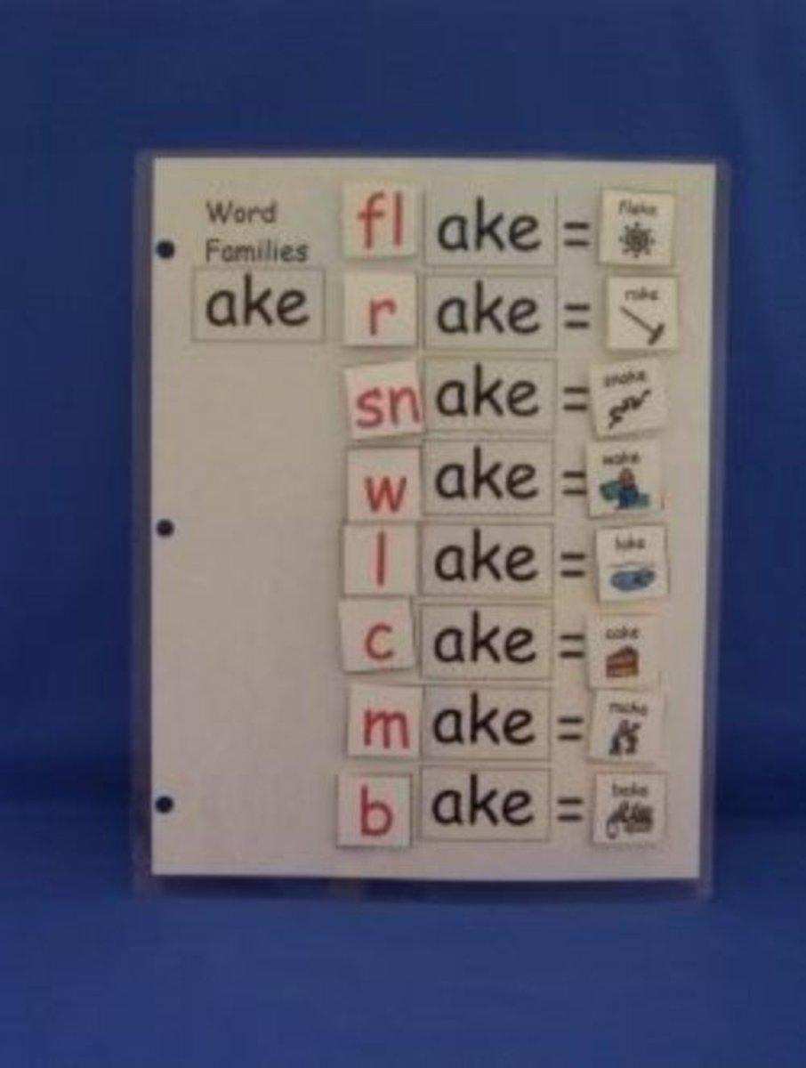 Teaching Word Families