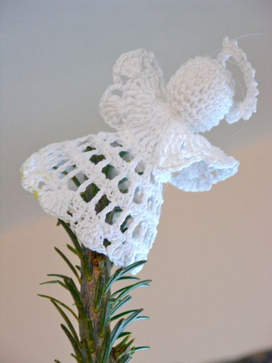 Crochet Patterns Free Angel : Over 20 Free Crochet Angel Patterns hubpages