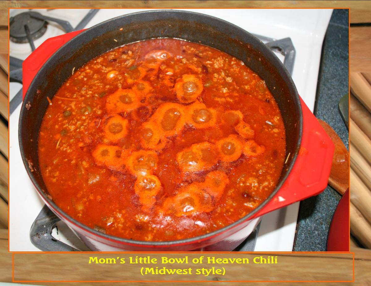 Little Bowl of Heaven Chili Recipe