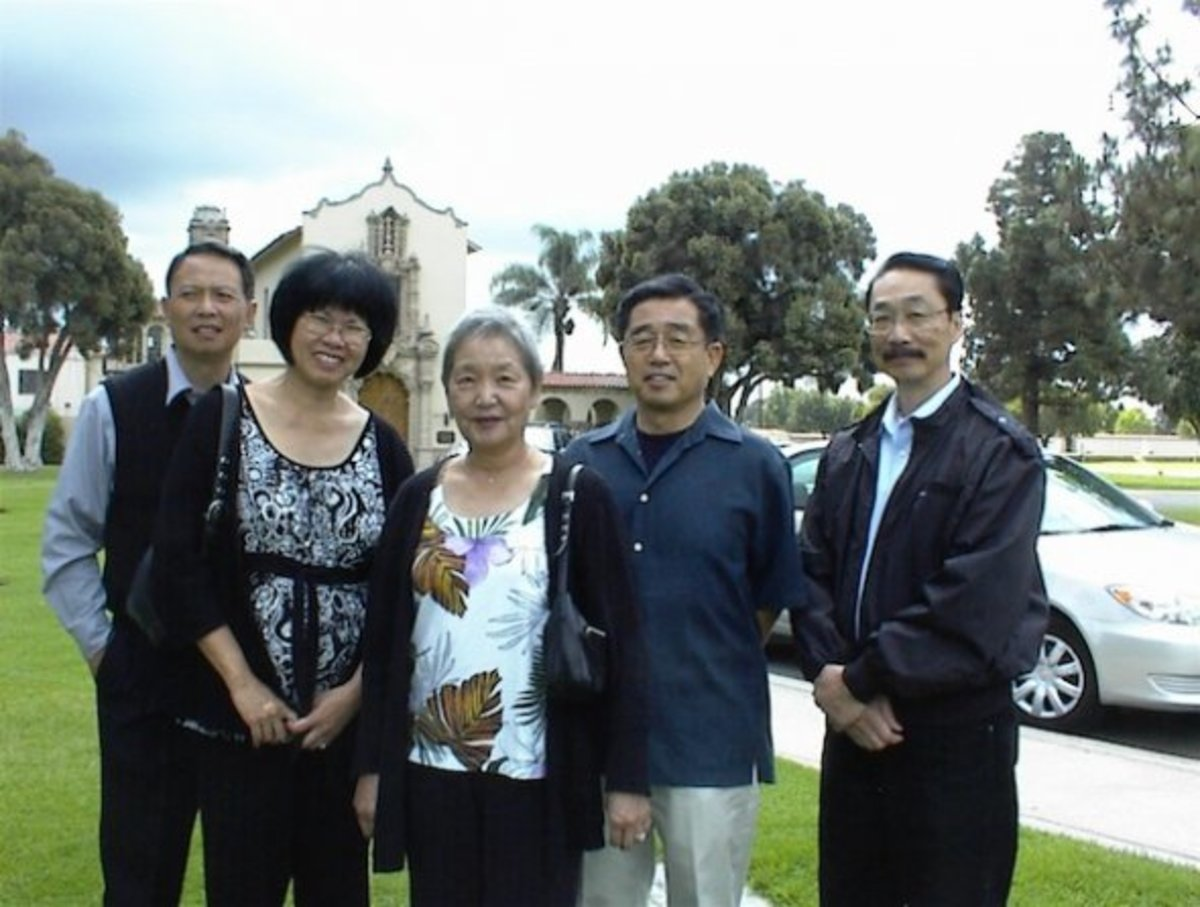 This was taken at Forest Lawn, Sunnyside in Long Beach at the time of my daughters burial service. Once again, faithful friends from CCRC were there, even though the church itself was gone by then and we all had found  new churches long ago.