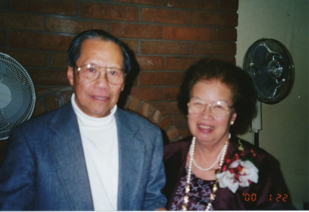 George and Mary Lau