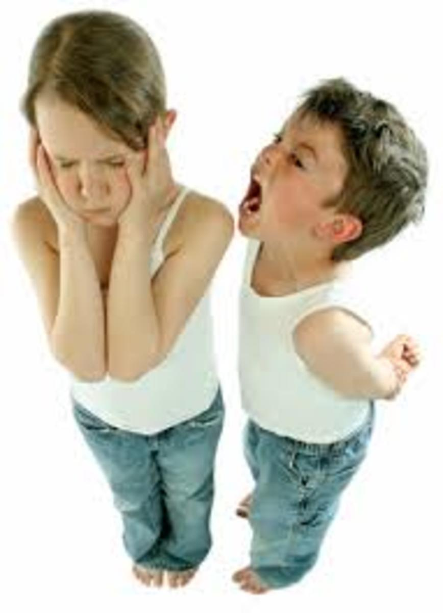 Many children experience emotional, mental, psychological, and verbal abuse at the hands of siblings.