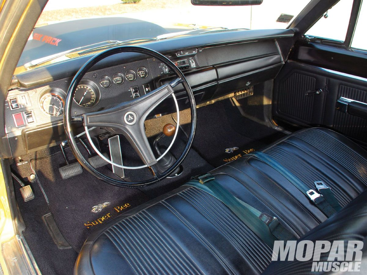 1969 DODGE SUPER BEE INTERIOR