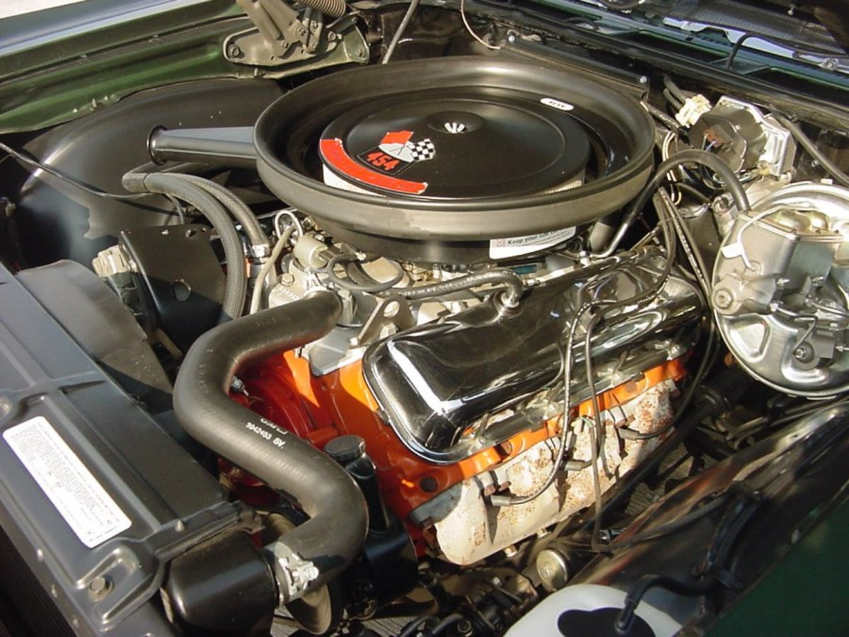 1970 CHEVELLE SS 454 ENGINE