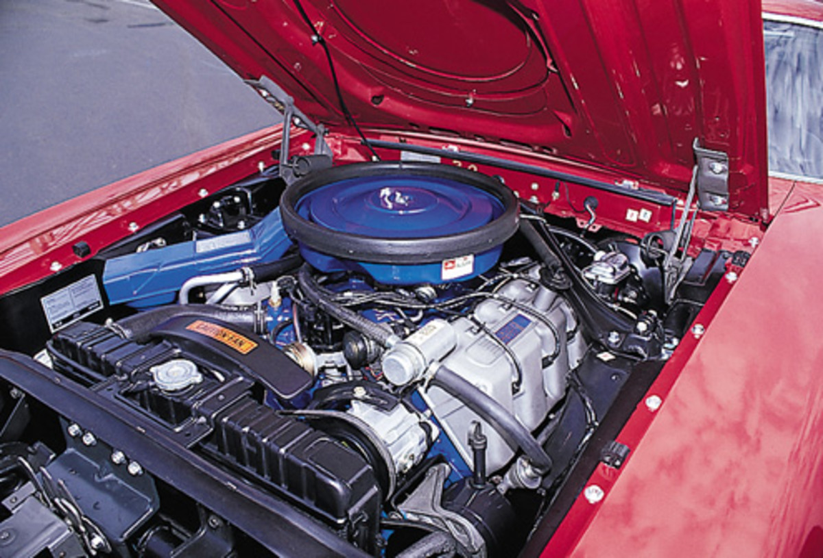 1969 MUSTANG BOSS 429 ENGINE