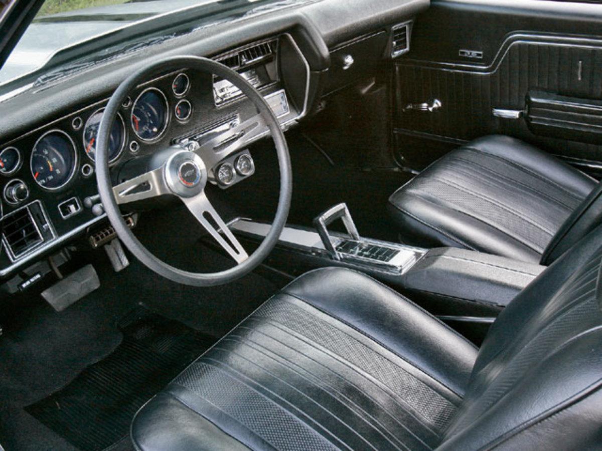 1970 CHEVELLE SS 454 INTERIOR