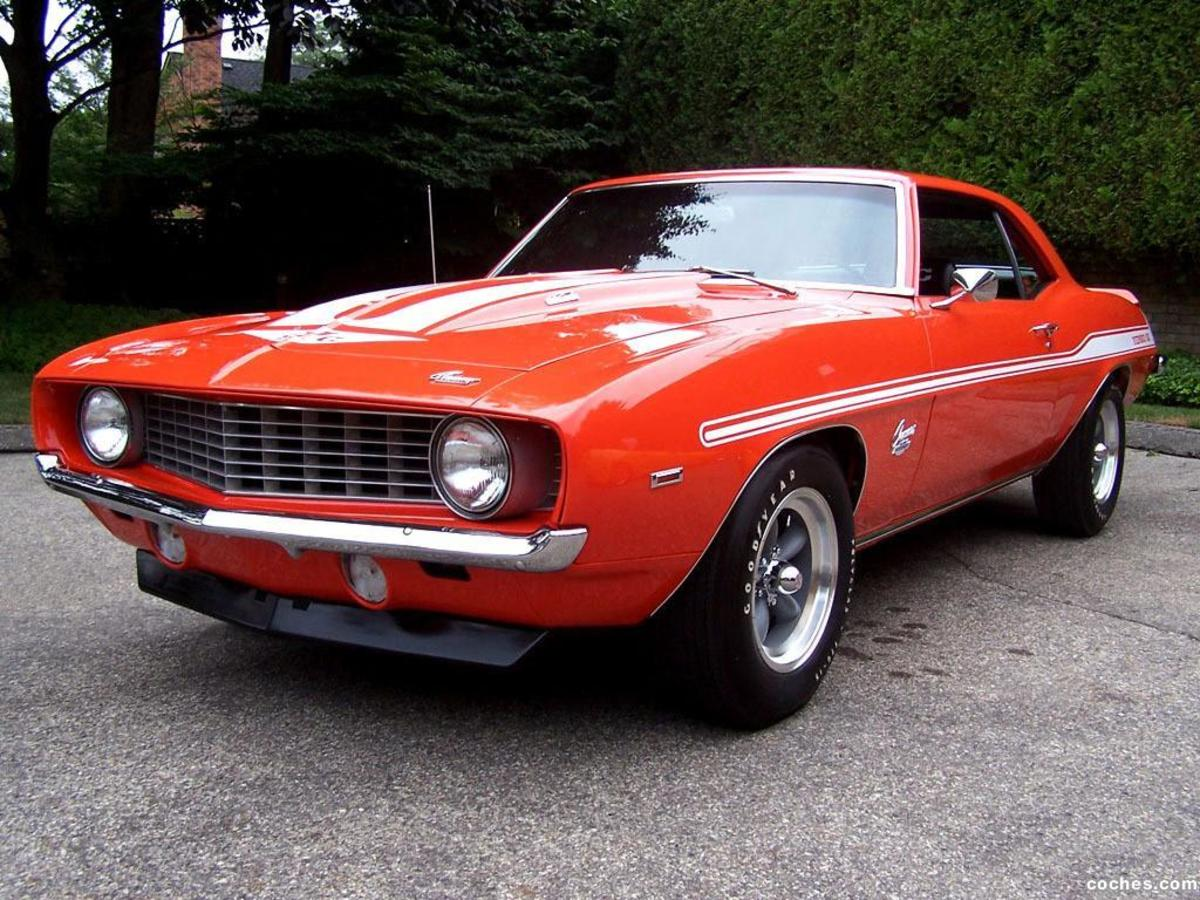 1969 YENKO CAMARO WITH A 427 ENGINE