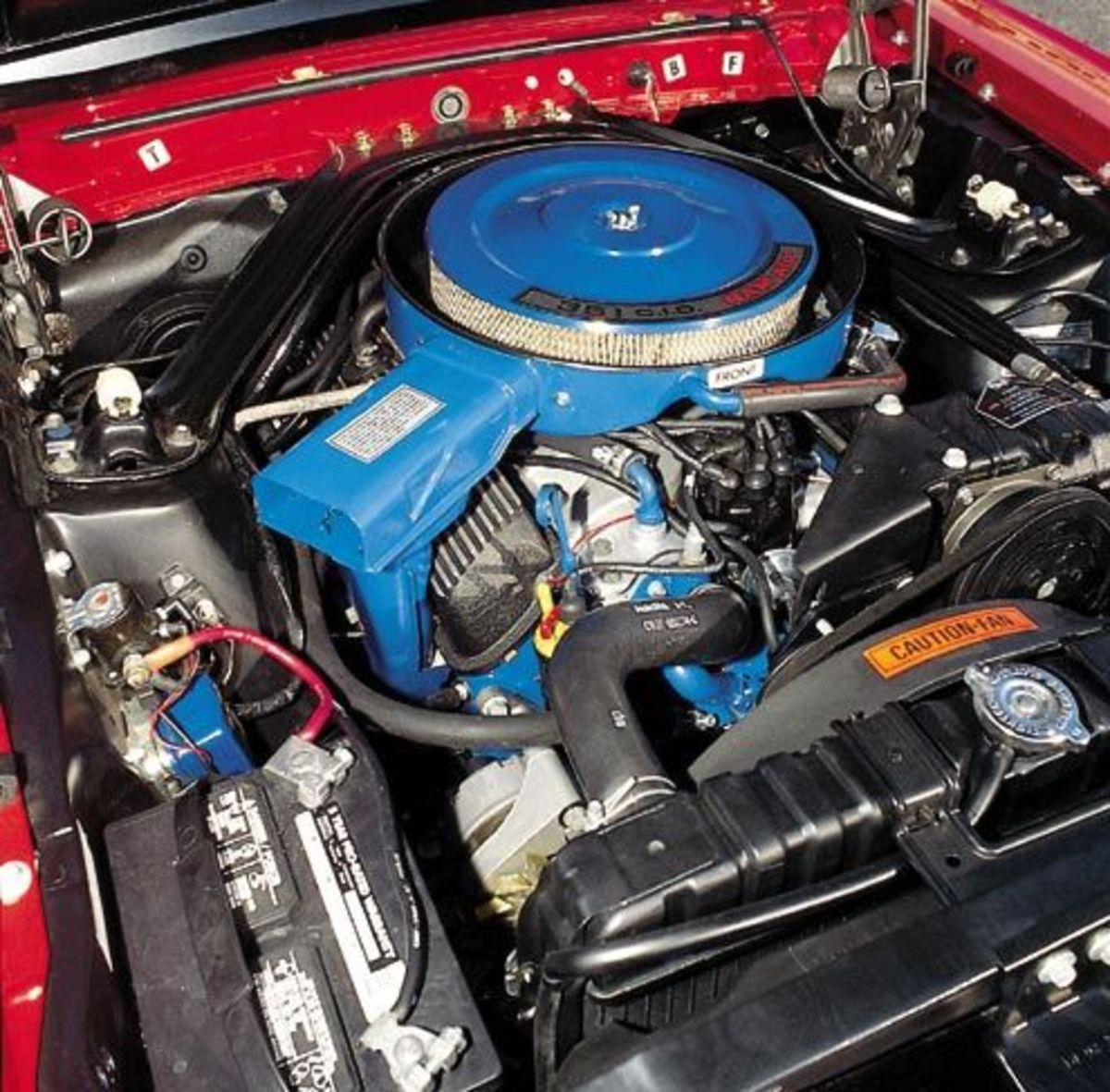 1969 SHELBY MUSTANG GT 350 ENGINE