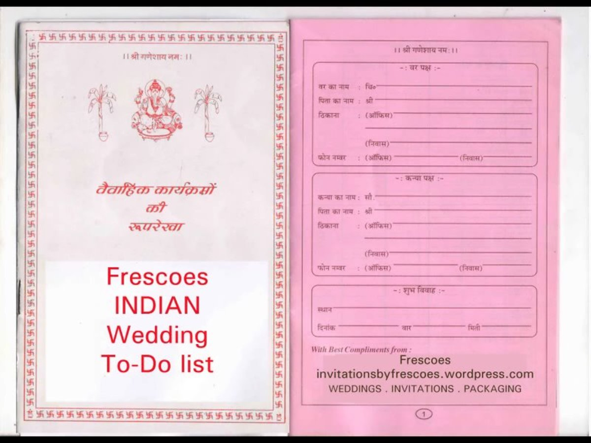 A detailed preview of Indian wedding functions before and after the big day