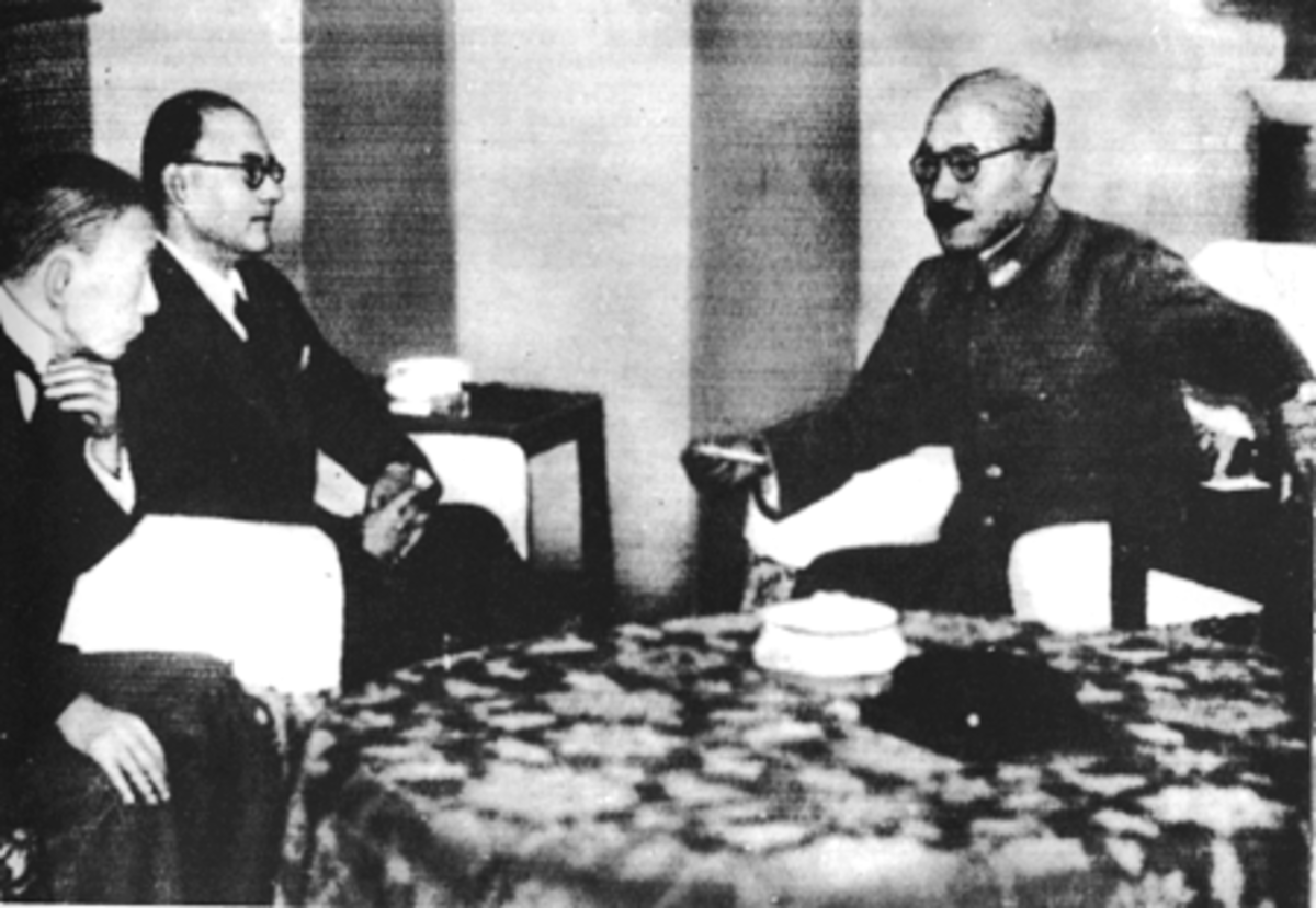 Subhash Chandra Bose Meets Japanese Prime Minister Hideki Tojo in Tokyo
