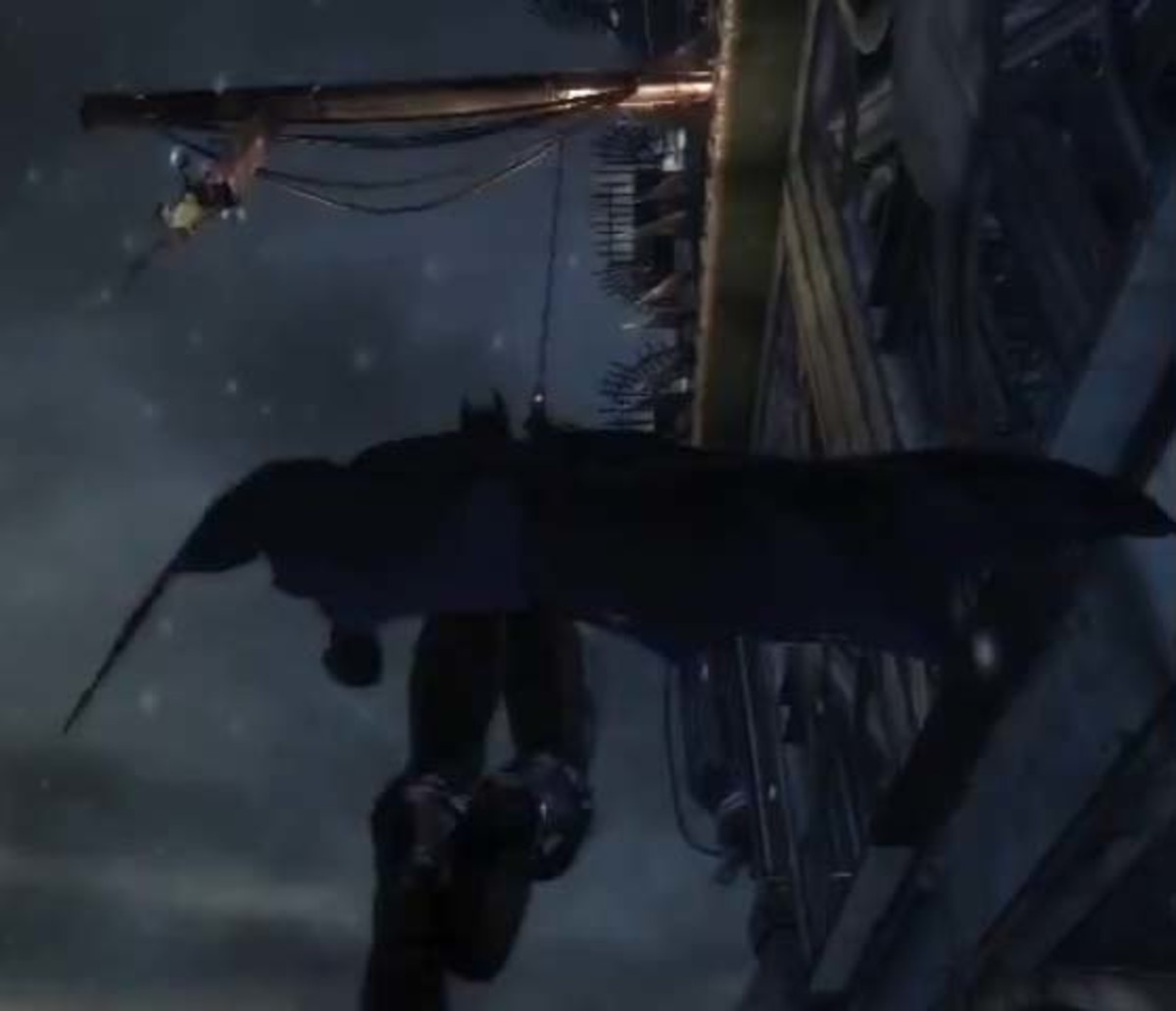 Batman Arkham City Getting to the Top of Wonder Tower