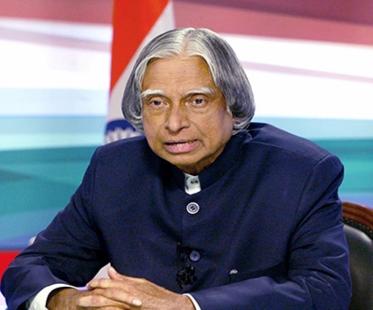 APJ Abdul Kalam, former President of India.