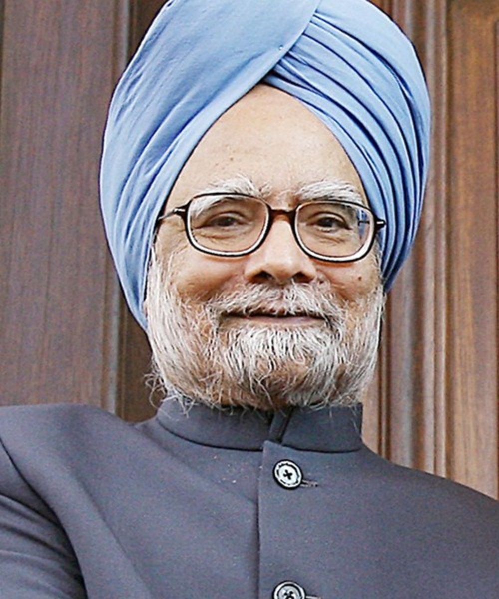 Man Mohan Singh, Former Prime Minister of India.
