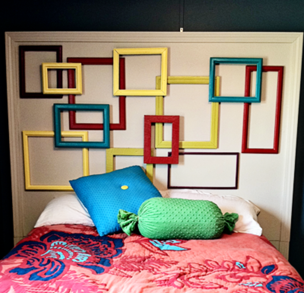 Picture Frames Collage Headboard