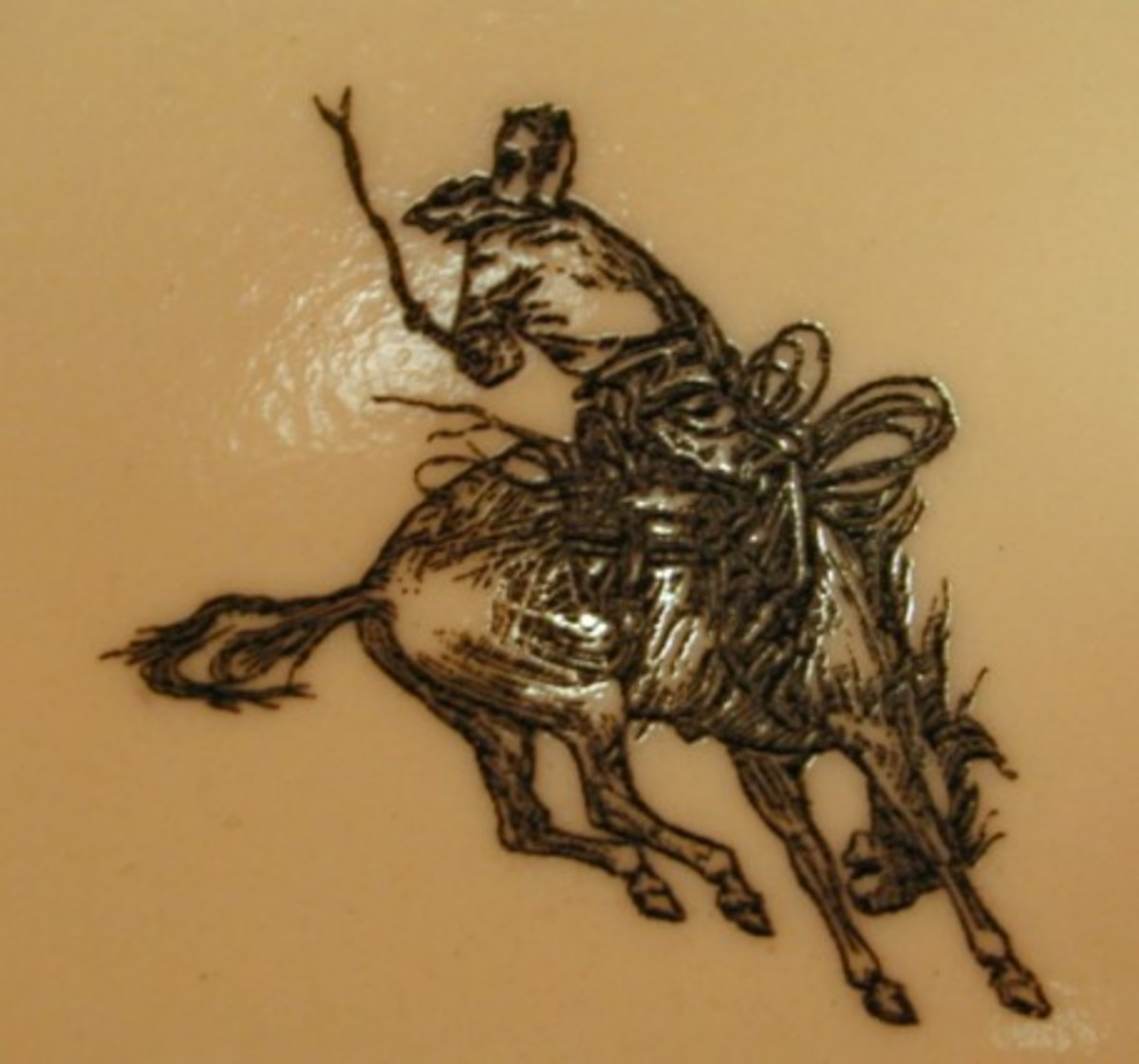 Rodeo Cowboy Tattoo Design