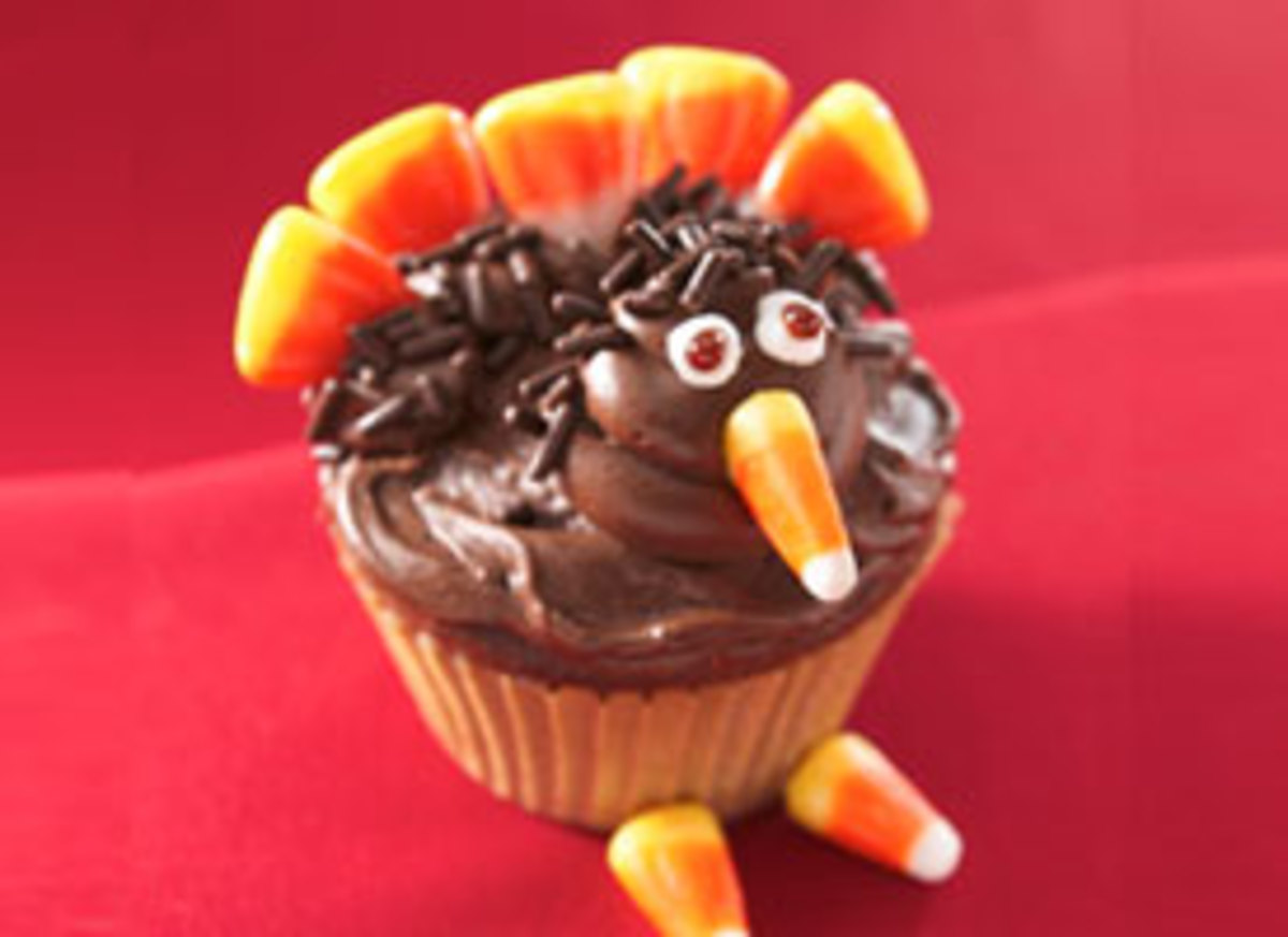 Betty Crocker's Turkey Cupcakes