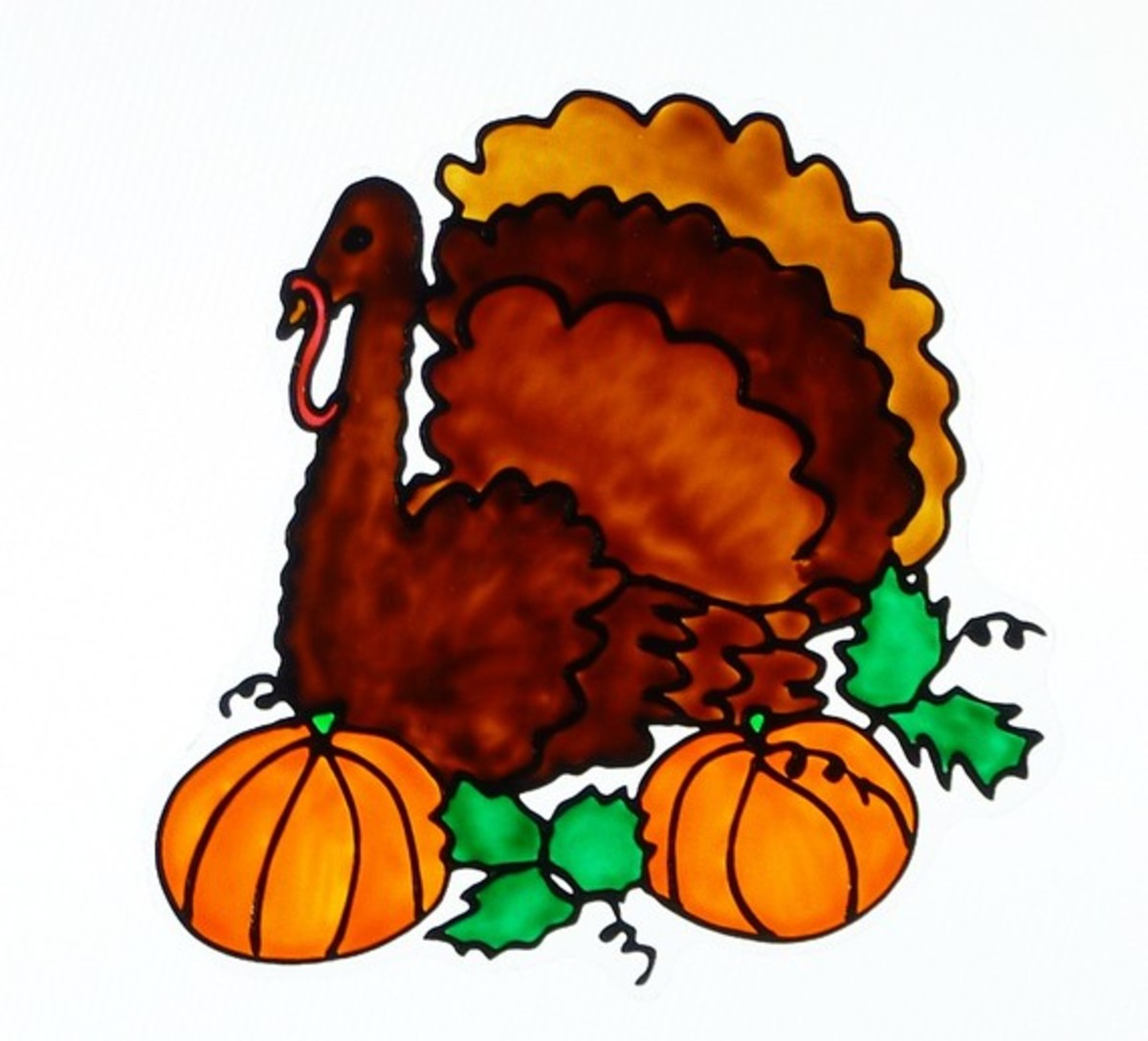 thanksgiving-decorations-window-clings