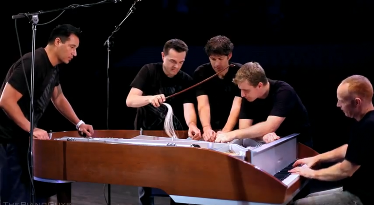 An Undiscovered Musical Treasure: The Piano Guys!