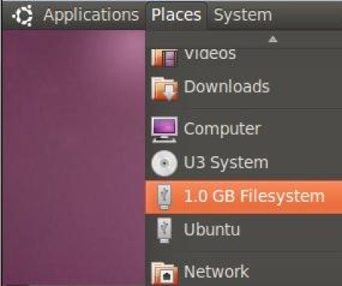 Vodafone 3G USB Mounted on Ubuntu