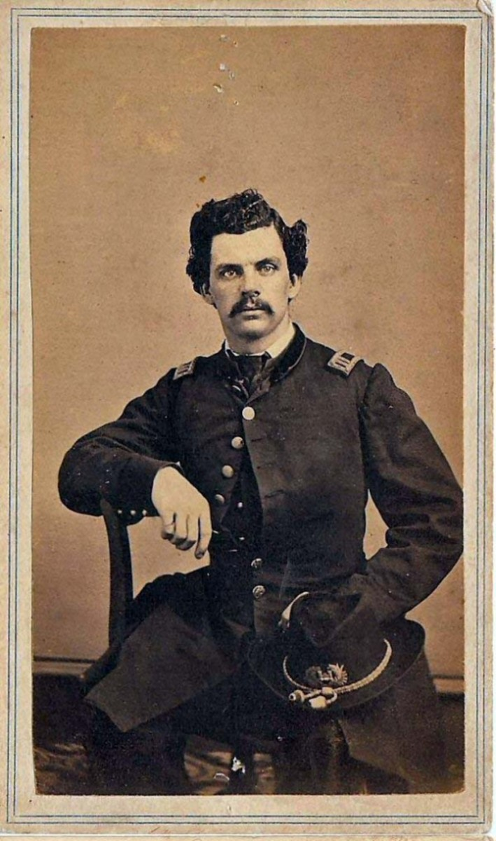 Richard Middleton Captain, Union Army (American civil war) 50th Regiment, New York Eng.