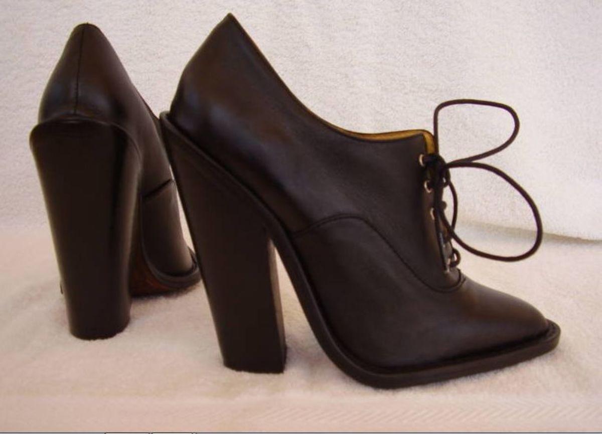 superb Spanish high heeled men's shoes