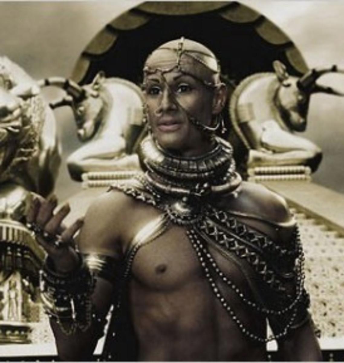 "Xerxes in the film ""300"""