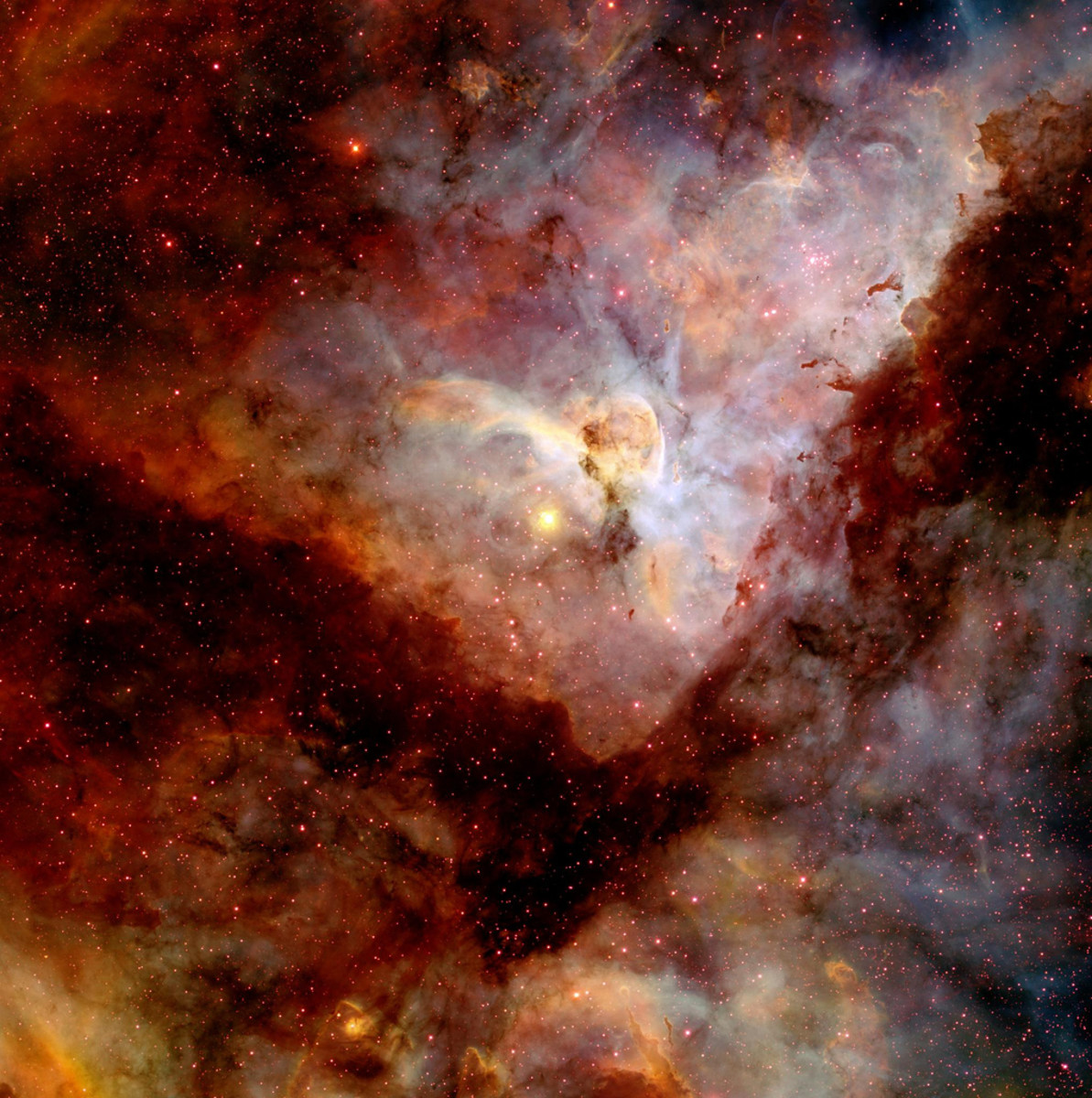 CTIO Image of Carina Nebula