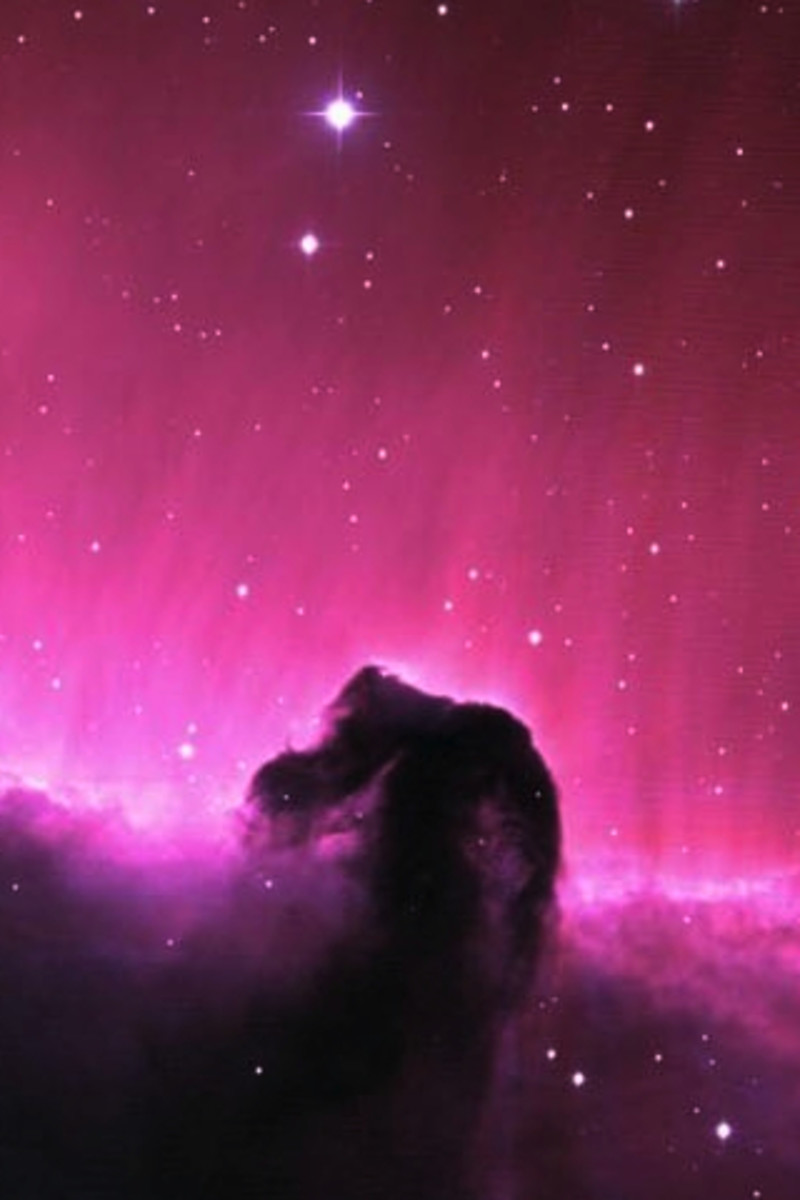 The Horsehead Nebula is an example of an absorption nebula.
