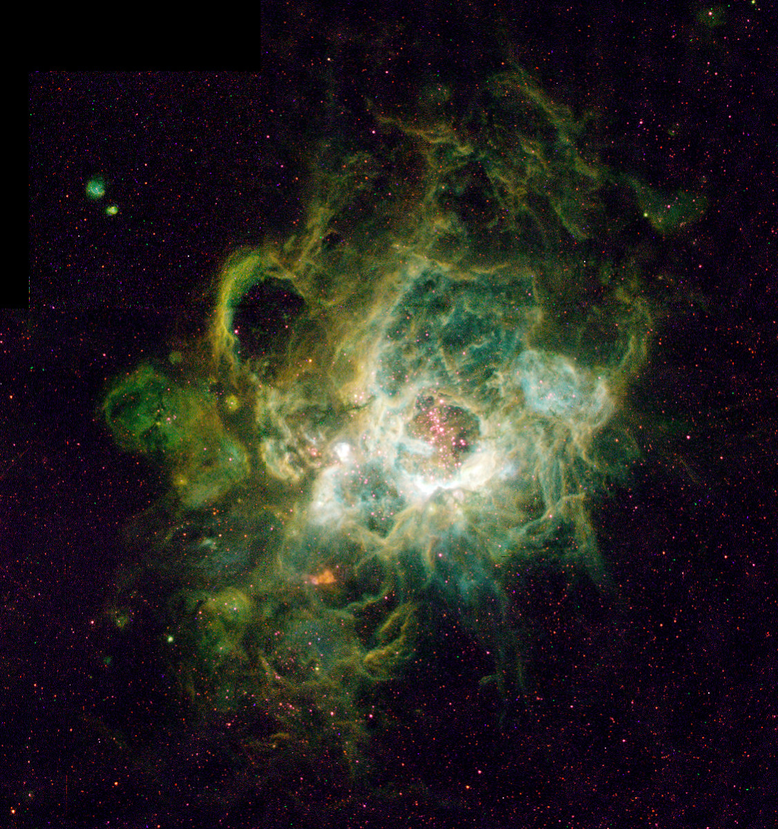 Triangulum Galaxy Nebula
