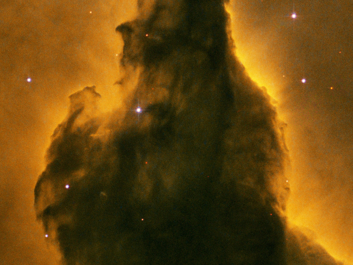 Pillar Detail of Eagle Nebula